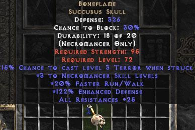 3 succubus item diablo Unique Succubus